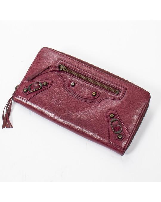 Balenciaga Continental Zip Wallet