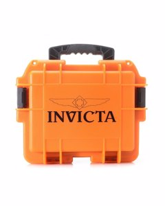Invicta Watch Box Orange Glow - 3 Slot Dc3org/glow
