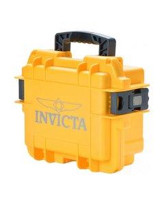 Invicta Watch Box Yellow - 3 Slot Dc3yel