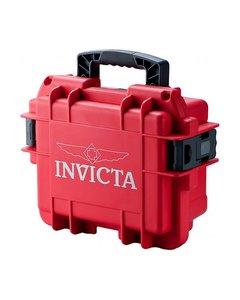 Invicta Watch Box Red - 3 Slot Dc3red