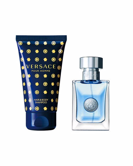 VERSACE Giftset Versace Pour Homme Edt 30ml + Hair & Body Shampoo 50ml