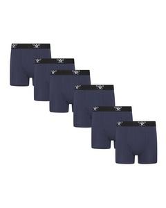 Cappuccino Italia 6-pack Boxers Blauw