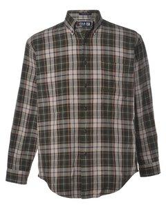 1990s Fila Checked Shirt