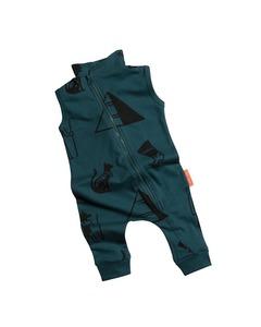Cross Zipper Jumpsuit