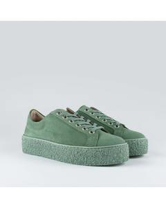 Sidder W Suede Shoe Light Green