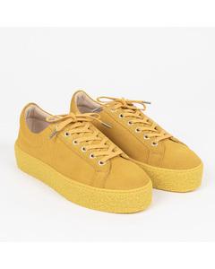 Sidder W Suede Shoe Yellow