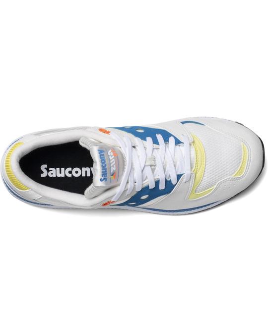 Saucony Azura B Wht/blu/yel