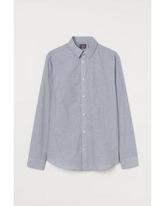 Easy Iron-overhemd – Slim Fit Grijs