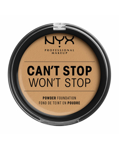 Nyx Prof. Makeup Can't Stop Won't Stop Powder Foundation -  Beige