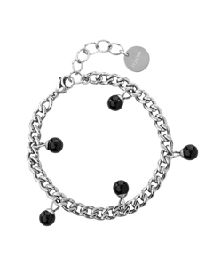 Chanel Pearl Braclet S Silver