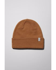 Icon Knit Beanie Brown