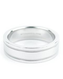 Tiffany Platinum Ring Silver
