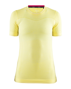 Fuseknit Comfort Rn Ss W - Rise Melange-yellow-m
