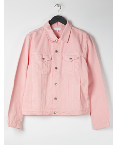 Aw17 Shelton Denim Jacket - Pink