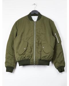 Aw17 Thomasson Bomber Jacket - Army Green