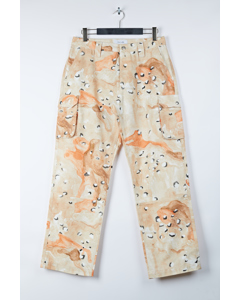 Aw17 Craig Camouflage Casual Pants - Beige Camou
