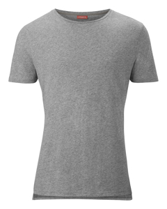 1p Tee Bb Solid Grey