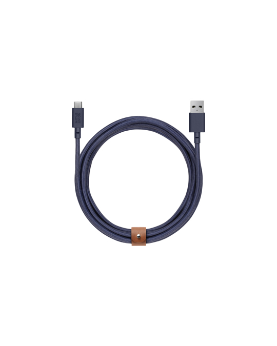 Native Union Belt Cable Xl (usb-a To Usb-c) Marine