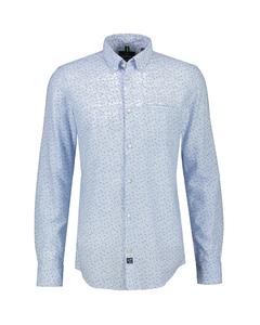 Lange Mouw Overhemd *melange*