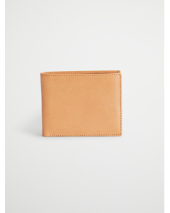 Six Card Wallet Tan Leather