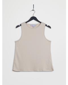 Open Back Lyocell Vest Mistyrose
