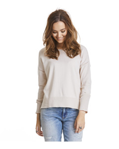 Miss Soft Sweater Light Porcelain
