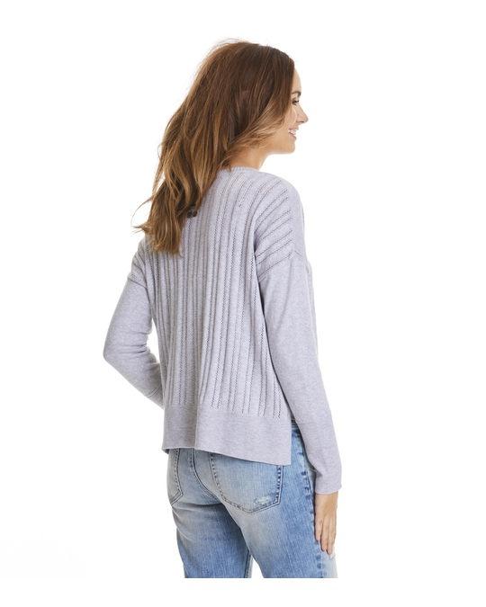 Odd Molly Miss Soft Sweater Light Grey Melange
