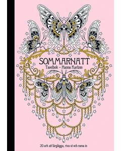 Sommarnatt - Tavelbok Pink