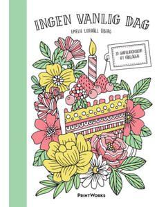 Ingen Vanlig Dag – 20 Gratulationskort Att Färglägga Pink