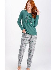Wild Live Pajama Set