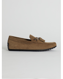 Chamois Leather Loafer Brown