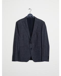 Peaked Lapels Formal Suit Grey