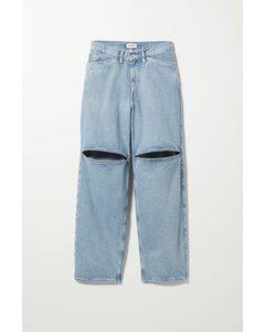 Jeans Brae im Workwear-Stil Tintenblau