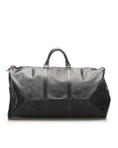 Louis Vuitton Epi Keepall 60 Black