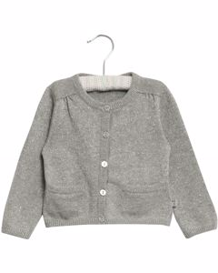 Knit Cardigan Ibi Melange Grey