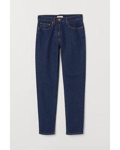 Slim Ankle Jeans Mörk Denimblå