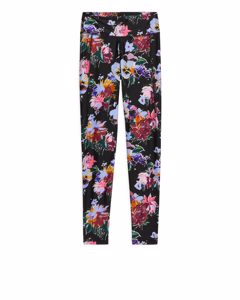 Printed Econyl® Tights Floral