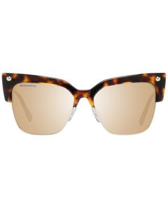 Dsquared2 Mint Women Brown Sunglasses Dq0279 5552c 55-16-143 Mm