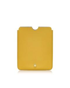 Bvlgari Leather Ipad Case Yellow