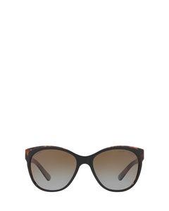 Rl8156 Shiny Black On Sherry Havana Solglasögon