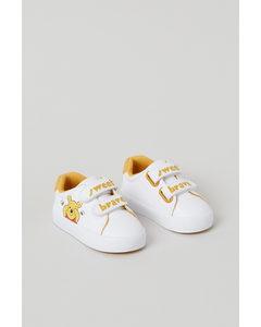 Sneakers Met Print Wit/winnie De Poeh