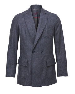 Ledgendary Double Breasted Wool Blazer