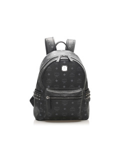 Mcm Visetos Stark Backpack Black
