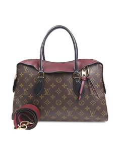 Louis Vuitton Monogram Tuileries Satchel Brown