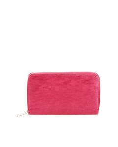 Louis Vuitton Epi Zippy Long Wallet Pink