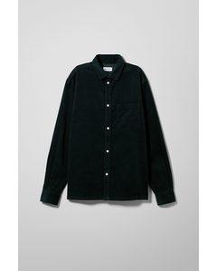 Wise Cord Shirt Dark Blue