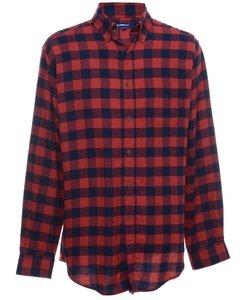 1990s Croft & Barrow Checked Shirt
