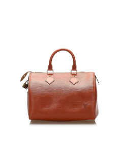 Louis Vuitton Epi Speedy 25 Brown