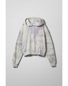 Amaze Hoodie White/marble Print