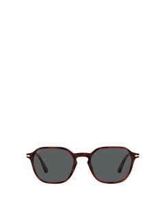 Po3256s Red Solglasögon